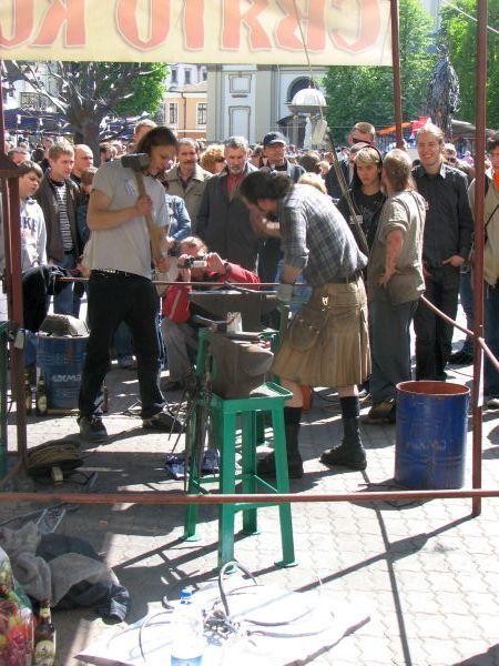 Демонстрація ковальського мистецтва