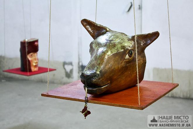 Ви були на виставці скульптур Ярослава Яновського? — Йо.