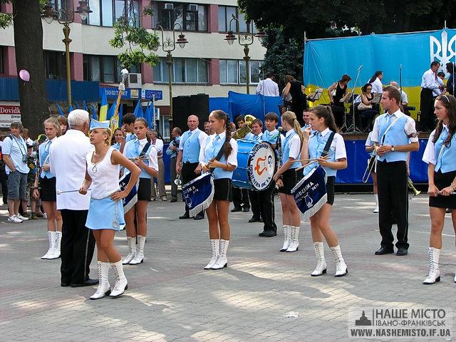 День Незалежності в нашому місті Івано-Франківську