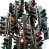 Першу стаціонарну систему відеоспостреження встановлено на перехресті в Івано-Франківську (рис.1)