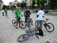 Івано-Франківськ приєднався до Всеукраїнського Велодня